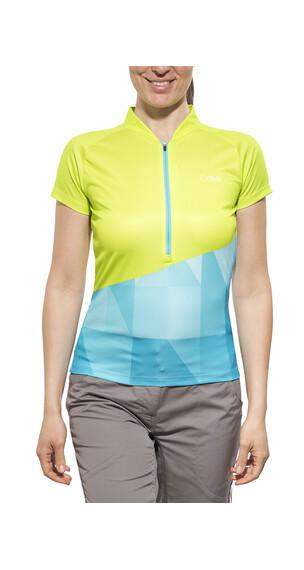iXS Sablun Trail Jersey Lady lime/blue